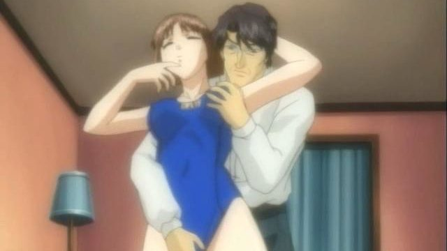 Impossible To Resist Anime Lady Getting Unclothed And Romped Through Her Mature Beau