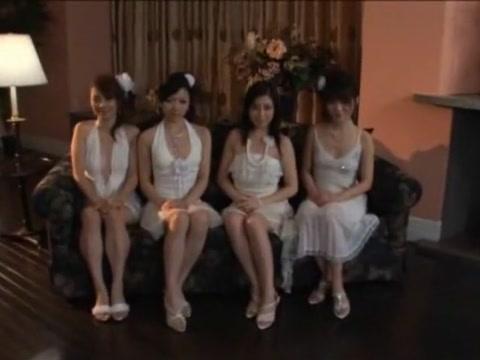 Gorgeous Chinese Bi-atch Sayuri Aizawa, Makoto Mizuhara, Ruri Shiratori In Epic Gang-fuck, Getting Off/onanii Jav Tweak